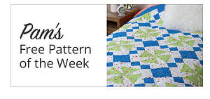 Pam's Free Pattern of the Week