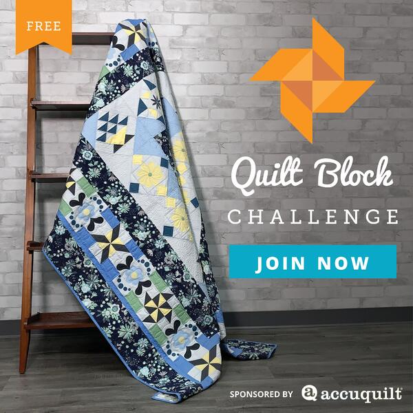 Join the Quilt Block Challenge Today!