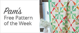 Pam's Free Pattern of the Week | Download Now >