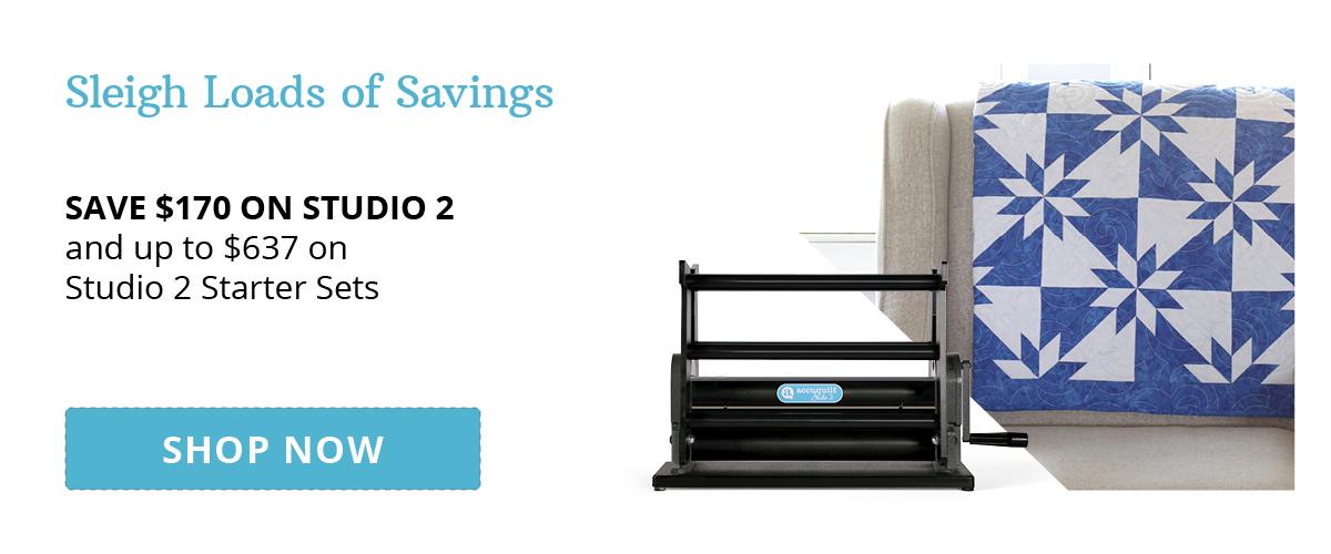 Sleigh Loads of Savings | Save Up to $170 on Studio 2 & Up to $637 on Studio 2 Starter Sets
