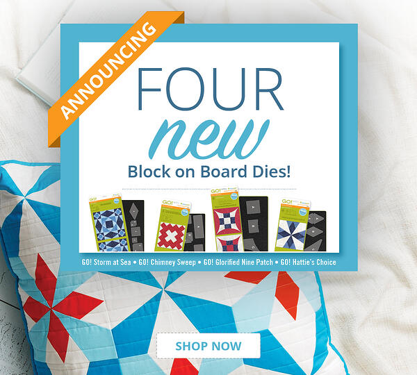 ANNOUNCING | Four New Block on Board Dies!