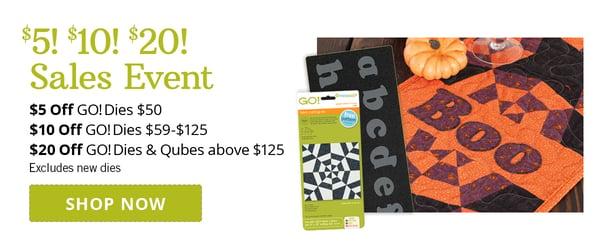 $5! $10! $20! Sales Event | Shop Now >
