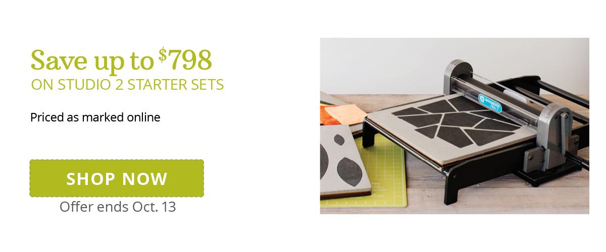 Save up to $798 on Studio 2 Starter Sets