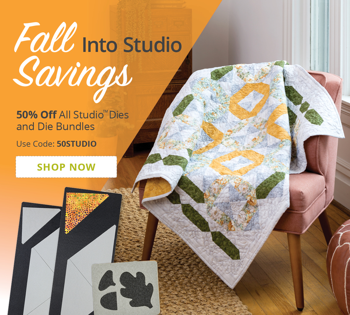 Fall Into Studio Savings | 50% Off Studio Dies and Die Bundles