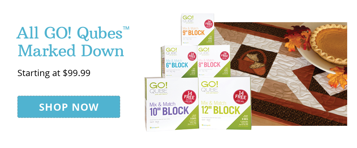 All GO! Qubes Marked Down | Starting at $99.99 >