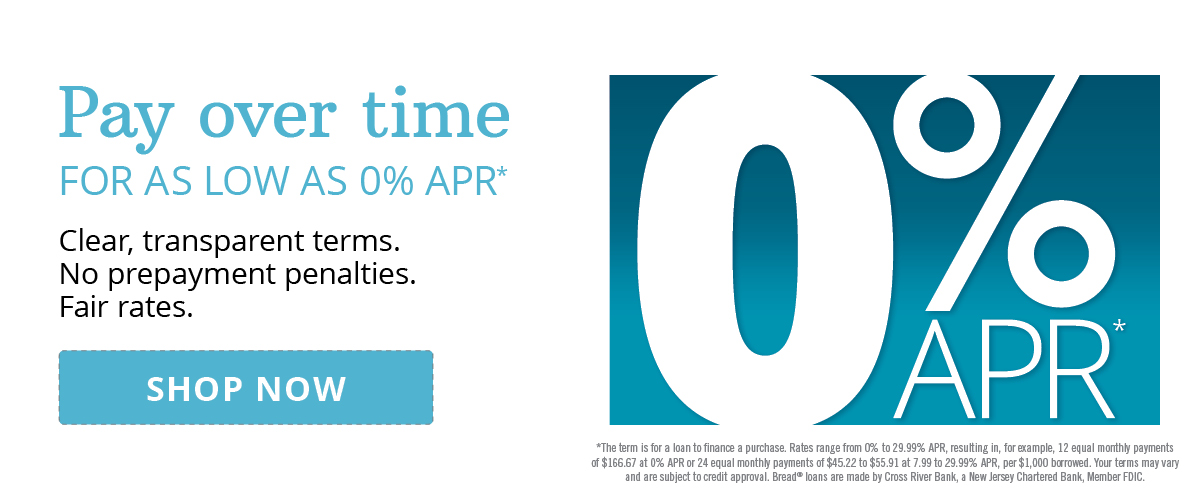 Pay Over Time | Learn More >