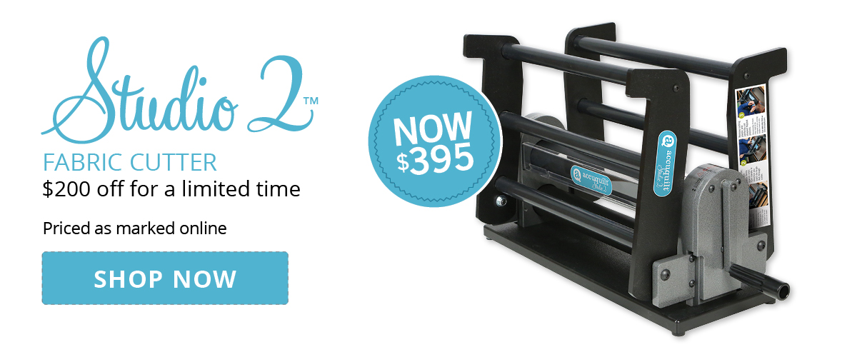 Studio 2 Fabric Cutters $200 Off | Shop Now >