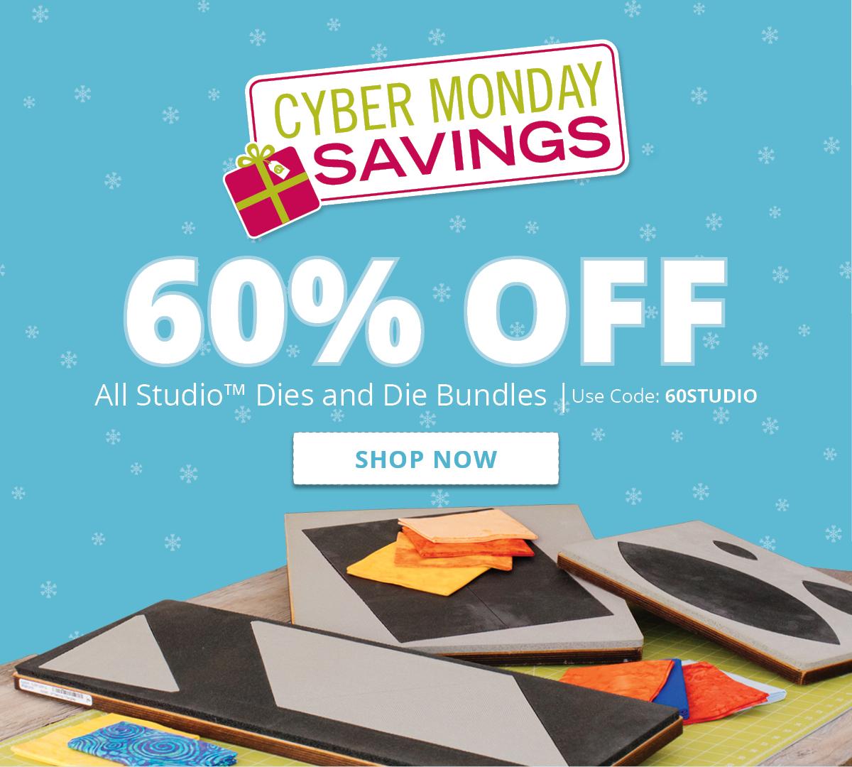 60% off ALL Studio Dies & Die Bundles | Shop Now >