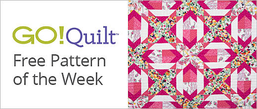 GO! Quilt Free Pattern of the Week | Download Now >
