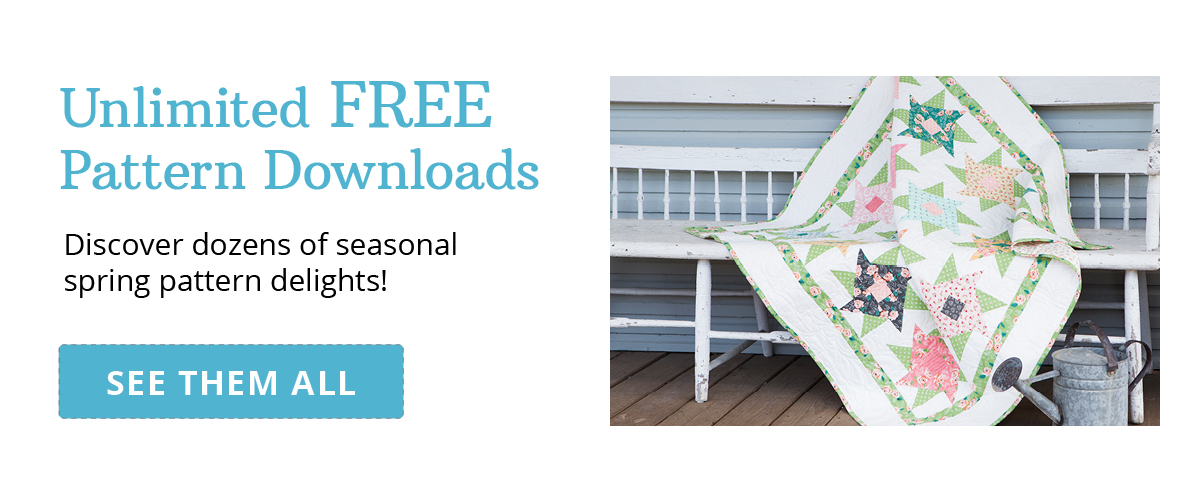 Unlimited FREE Pattern Downloads | SEE THEM ALL >