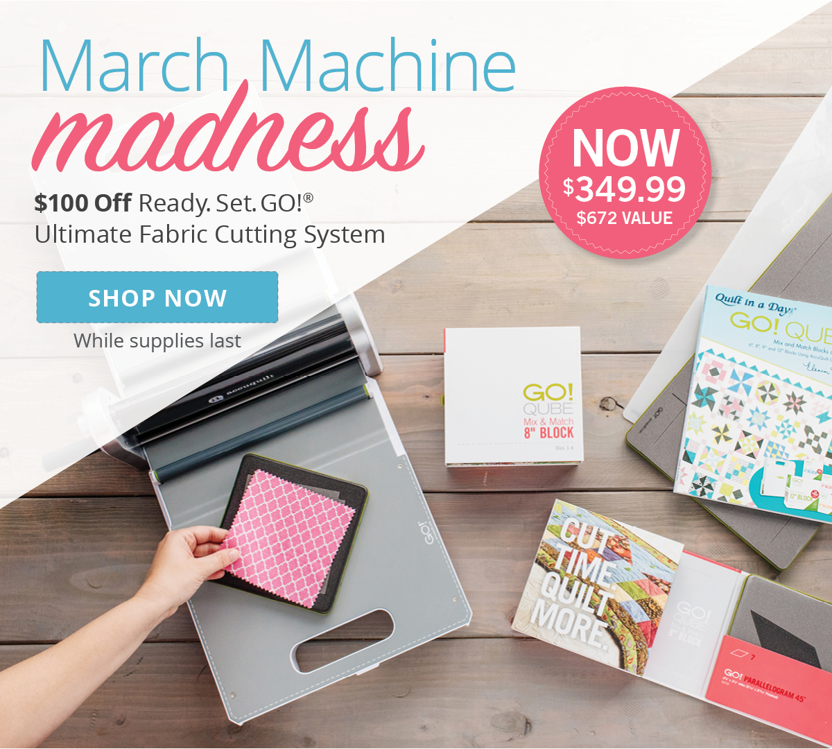 March Machine Madness | Shop Cutters Now >