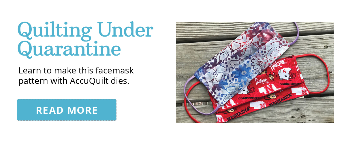 Quilting Under Quarantine | Learn to Make this Facemask >