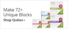 Make 72+ Unique Blocks | Shop Qubes >